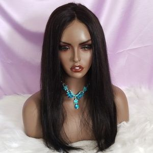 """💕 18"""" Sexy 360 Lace Frontal Human Hair Wig 💕"""